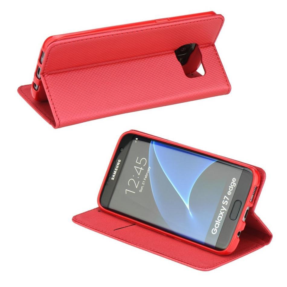 Kryty a pouzdra na mobily   Kryty a pouzdra na Apple iPhone   Kryty a  pouzdra na iPhone 6 a 6S   Pouzdro na iPhone 6 - Smart Case Book - Červené a7e67e239b9
