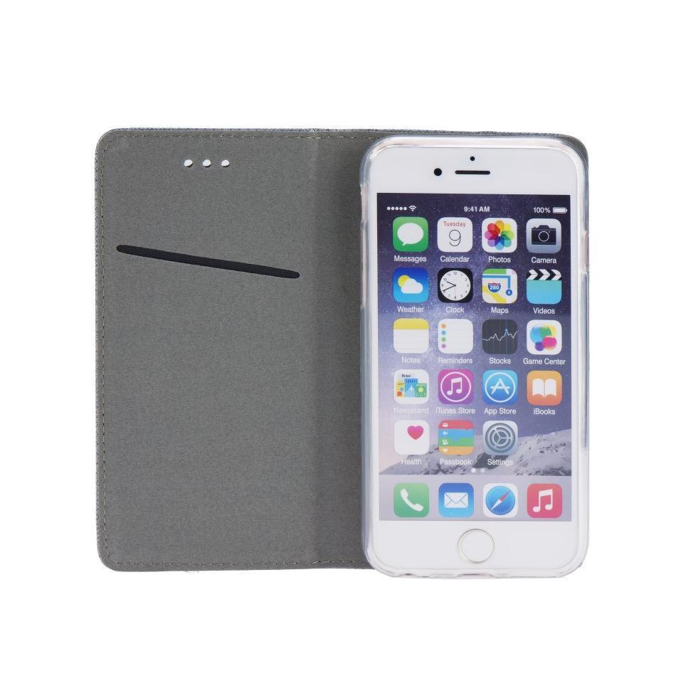 Kryty a pouzdra na mobily   Kryty a pouzdra na Apple iPhone   Kryty a  pouzdra na iPhone 6 a 6S   Pouzdro na iPhone 6 - Smart Case Book - Ocelové 1471577372c