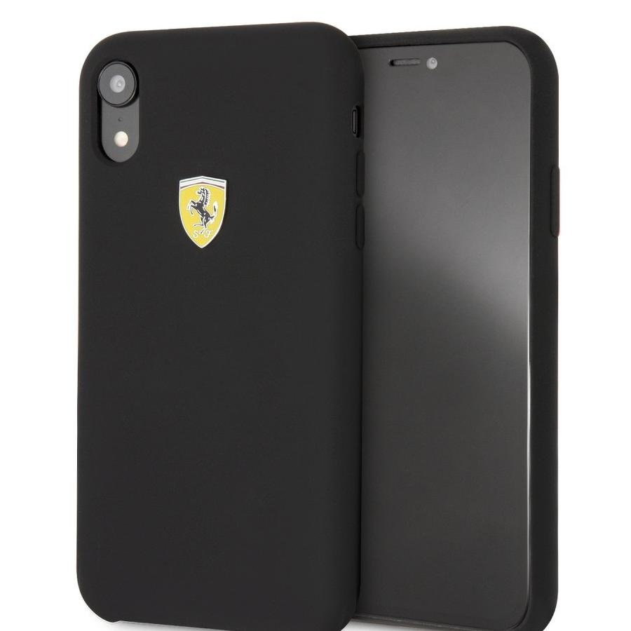Krytomat.cz - Kryt na iPhone XR - Ferrari - černé c32f54eb1ae