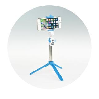 Selfie tyč se stojanem, dálkové ovládání (bluetooth)